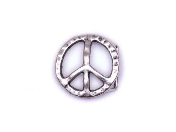 "Koppelschließe ""Peace"""