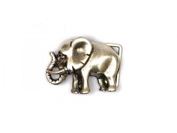 """Koppelschließe """"Elefant"""""""
