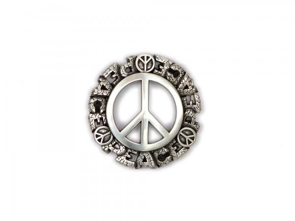 "Koppelschließe ""Peace"" KS1272"