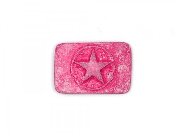 """Koppelschließe """"Stern"""" pink KS1267"""